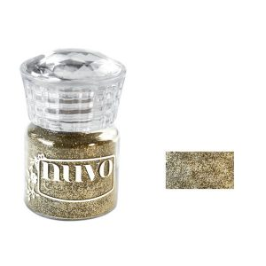 Nuvo Glitter Embossing Powder - Gold Enchantment class=