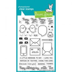 Lawn Fawn Love Letters Stamp Set