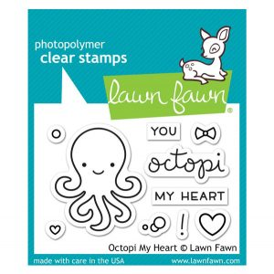 Lawn Fawn Octopi My Heart Stamp Set