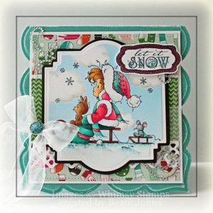 Whimsy Stamps Let It Snow Stamp class=