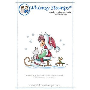 Whimsy Stamps Let It Snow Stamp