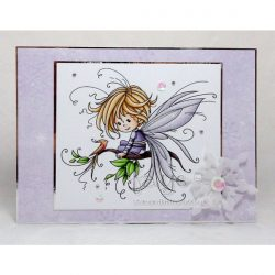 Whimsy Stamps Pixie Stamp