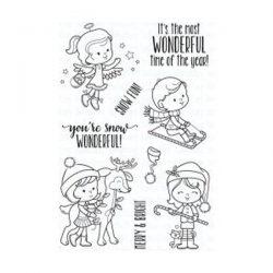 Your Next Stamp Snow Wonderful Stamp Set