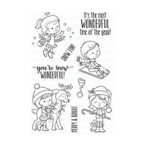 Your Next Stamp Snow Wonderful Stamp Set