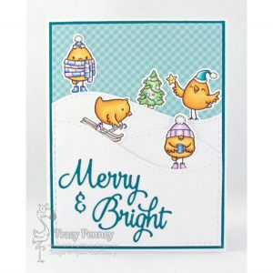 Your Next Stamp Merry Christmas Chickie Stamp Set class=