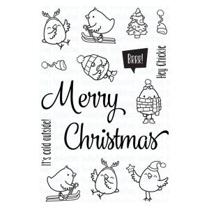 Your Next Stamp Merry Christmas Chickie Stamp Set