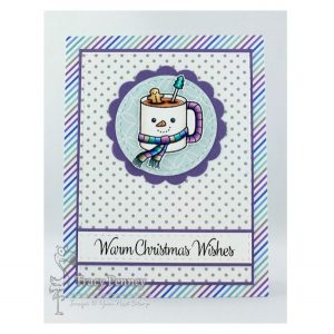 Your Next Stamp Warm Christmas Wishes Stamp Set class=