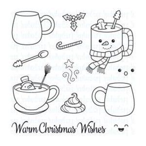 Your Next Stamp Warm Christmas Wishes Stamp Set