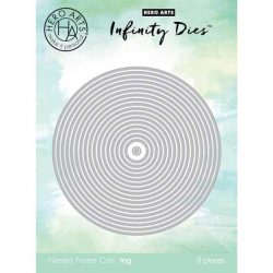 "Hero Arts Circle Infinity Dies <span style=""color:red;"">Reserve – more on the way</span>"