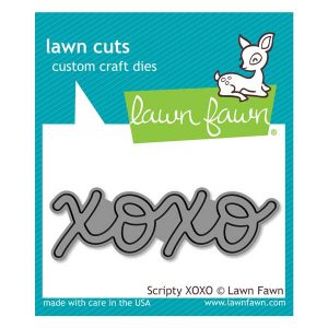 Lawn Fawn Scripty XOXO Lawn Cuts