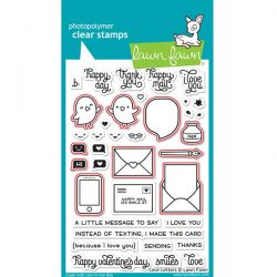 """<span style=""""color:red;"""">PREORDER</span>  Lawn Fawn Love Letters Lawn Cuts"""