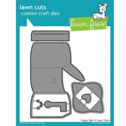 Lawn Fawn Happy Mail Lawn Cuts