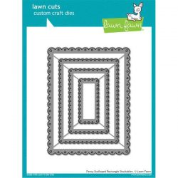 Lawn Fawn Fancy Scalloped Rectangle Stackables