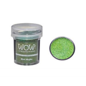 WOW! Mint Mojito Embossing Powder class=