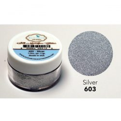 Elizabeth Craft Designs Silk Microfine Glitter – Silver