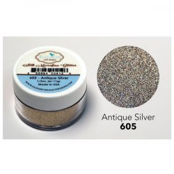 Elizabeth Craft Designs Silk Microfine Glitter – Antique Silver