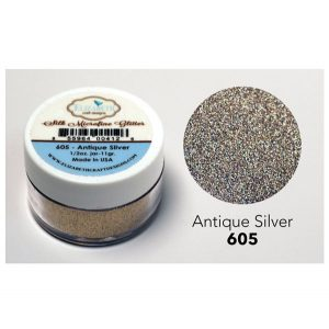 Elizabeth Craft Designs Silk Microfine Glitter – Antique Silver