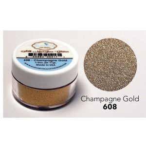 Elizabeth Craft Designs Silk Microfine Glitter - Champagne Gold