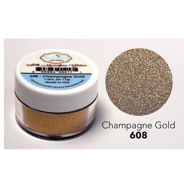 Elizabeth craft designs silk microfine glitter champagne for Elizabeth craft microfine glitter