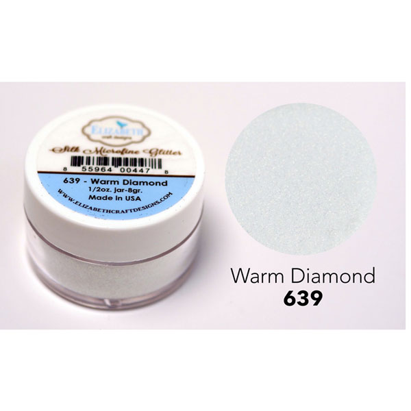Elizabeth Craft Designs Silk Microfine Glitter Warm Diamond The