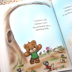 Buggie Bear Children's Book - signed by author class=