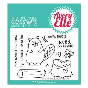 Avery Elle Wood You? Stamp Set