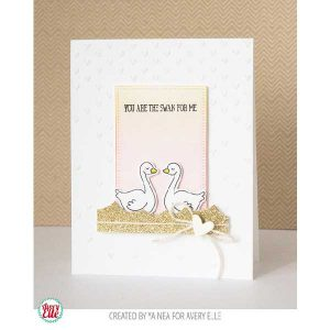 Avery Elle Swan Stamp Set class=
