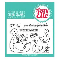 Avery Elle Swan Stamp Set