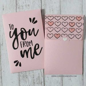 Concord & 9th Love Notes Stamp Set class=