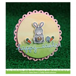 """<span style=""""color:red;"""">PREORDER</span> Lawn Fawn Hoppy Easter Stamp Set"""