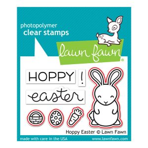 Lawn Fawn Hoppy Easter Stamp Set class=