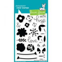 Lawn Fawn Fab Flowers Stamp Set