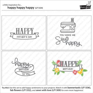 Lawn Fawn Happy Happy Happy Stamp Set class=