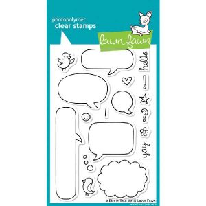 Lawn Fawn A Birdie Told Me Stamp Set