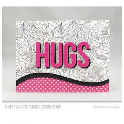 My Favorite Things Floral Fantasy Background Stamp