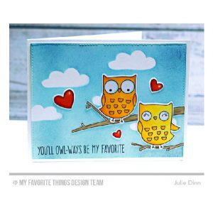 My Favorite Things I'm Owl Yours Stamp Set class=