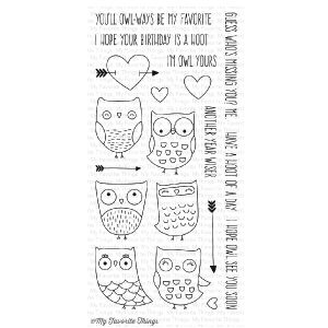 My Favorite Things I'm Owl Yours Stamp Set