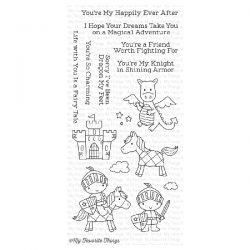 My Favorite Things Knight in Shining Armor Stamp Set