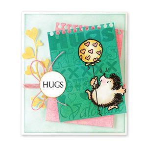 Penny Black Furry Hugs Stamp Set class=