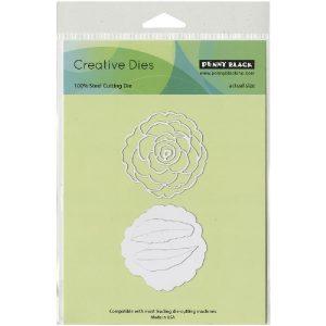 Penny Black Camellia Creative Dies class=