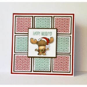 Your Next Stamp Mini Merry Chris-Moose Stamp class=