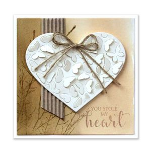 Penny Black Butterfly Heart Pop Out Die class=