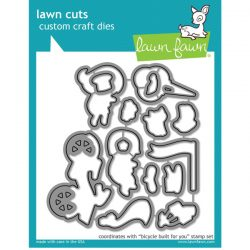 Lawn Fawn Bicycle Built for You Lawn Cuts