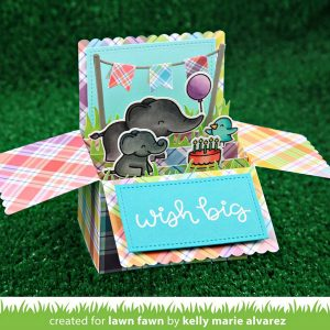 Lawn Fawn Scalloped Box Card Pop-Up Lawn Cuts class=
