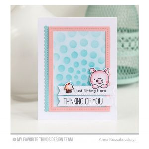 My Favorite Things Stitched Sentiment Strips Die-Namics class=