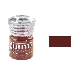Nuvo Embossing Powder - Crimson Gloss