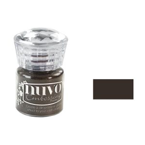 Nuvo Embossing Powders - Hot Chocolate class=