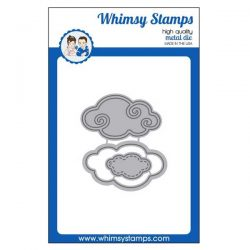 Whimsy Stamps Stitched Clouds Die Set