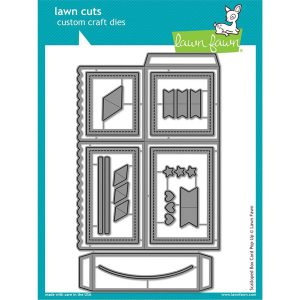 Lawn Fawn Scalloped Box Card Pop-Up Lawn Cuts