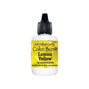 Ken Oliver Color Burst Watercolor Powder – Lemon Yellow